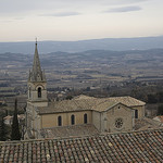 Eglise de Bonnieux - Vaucluse par cpqs - Bonnieux 84480 Vaucluse Provence France