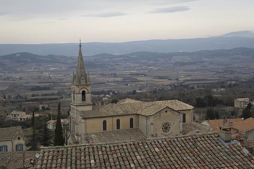 Eglise de Bonnieux - Vaucluse par cpqs