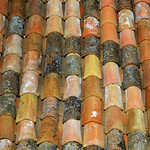Provencal rooftiles by perseverando - Bonnieux 84480 Vaucluse Provence France