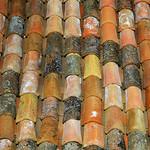 Provencal rooftiles par perseverando - Bonnieux 84480 Vaucluse Provence France