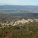 Bonnieux depuis la forêt des cèdres (petit lubéron) par perseverando - Bonnieux 84480 Vaucluse Provence France