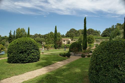 Le jardins du Château La Canorgue par * Elisabeth85 *