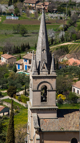 Clocher de l'église de Bonnieux by Cpt_Love
