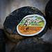 Bonnieux Market : fromage de chèvre noir by Ann McLeod Images - Bonnieux 84480 Vaucluse Provence France