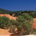 Colorado Provençal à Bouvène : entre désert jungle par  -   Vaucluse Provence France