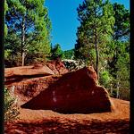 Rustrel dans le petit Colorado Provençal by Patchok34 -   Vaucluse Provence France