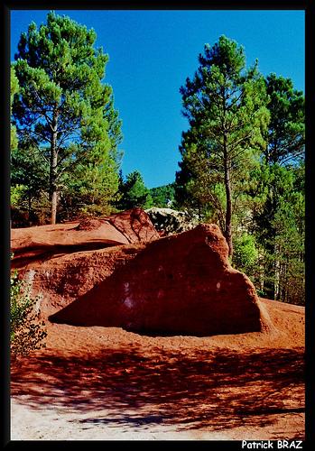 Rustrel dans le petit Colorado Provençal by Patchok34