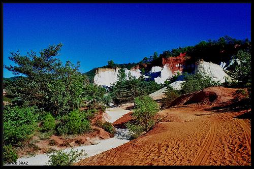 Rustrel ou le petit Colorado Provençal par Patchok34