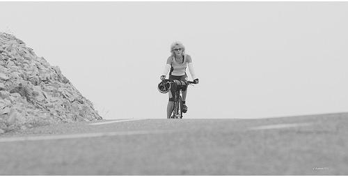 En plein effort - randonnée vélo à l'assaut du ventoux by Babaou