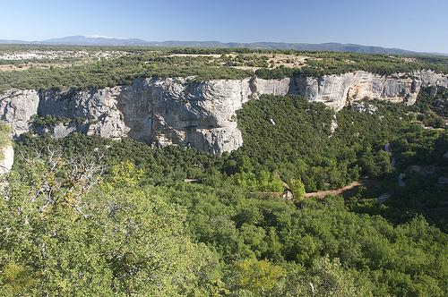 Fort de Buoux : vue sur le Ventoux par MoritzP