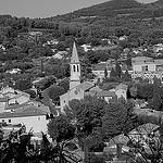 Le village de Cadenet et son église par Lio_stin - Cadenet 84160 Vaucluse Provence France