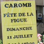 Fête de la Figue à Caromb by gab113 - Caromb 84330 Vaucluse Provence France