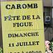 Fête de la Figue à Caromb par johnslides//199 - Caromb 84330 Vaucluse Provence France