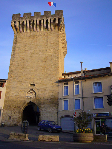 Porte d'Orange à Carpentras by fgenoher
