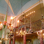 Intérieur de la synagogue de Carpentras par Klovovi - Carpentras 84200 Vaucluse Provence France