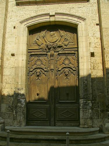 Porte sculptée ancienne by dm1795