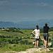Chateauneuf du Pape : vue sur les vignes par jmt-29 - Châteauneuf-du-Pape 84230 Vaucluse Provence France
