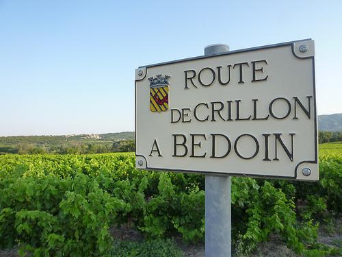 Route de Crillon le Brave à Bedoin by gab113