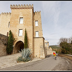 Village de Crillon le Brave - descente en vélo par Photo-Provence-Passion - Crillon le Brave 84410 Vaucluse Provence France