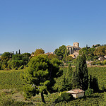 Vue sur Cucuron par Charlottess - Cucuron 84160 Vaucluse Provence France