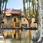 Le bassin de l'étang à Cucuron by Charlottess - Cucuron 84160 Vaucluse Provence France