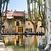 Le bassin de l'étang à Cucuron par Charlottess - Cucuron 84160 Vaucluse Provence France