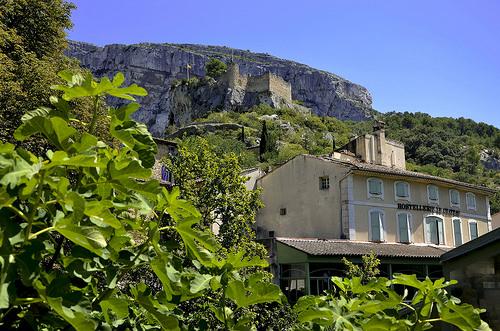 Ruine de forteresse au dessus de Fontaine de Vaucluse par christian.man12