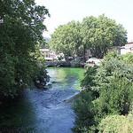 La Sorgue à Fontaine de Vaucluse by gab113 - Fontaine de Vaucluse 84800 Vaucluse Provence France
