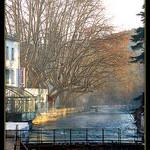 Fontaine de Vaucluse en automne by myvalleylil1 - Fontaine de Vaucluse 84800 Vaucluse Provence France