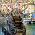 Roue à aubes - Fontaine de Vaucluse by myvalleylil1 - Fontaine de Vaucluse 84800 Vaucluse Provence France