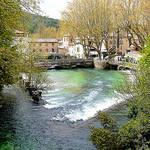 La Sorgue dans le village by myvalleylil1 - Fontaine de Vaucluse 84800 Vaucluse Provence France