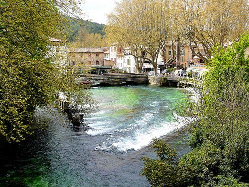 La Sorgue dans le village by myvalleylil1