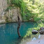 Fontaine de Vaucluse à hautes eaux par Hélène_D - Fontaine de Vaucluse 84800 Vaucluse Provence France