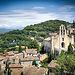 Les toits de Gigondas et son clocher par deltaremi30 - Gigondas 84190 Vaucluse Provence France