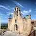 Eglise de Gigondas, entrée et clocher par deltaremi30 - Gigondas 84190 Vaucluse Provence France