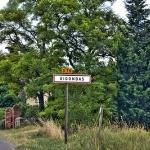 Entering Gigondas par C.R. Courson - Gigondas 84190 Vaucluse Provence France