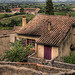 View of Gigondas par C.R. Courson - Gigondas 84190 Vaucluse Provence France