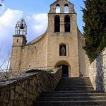 Eglise Sainte Catherine d'Alexandrie par fgenoher - Gigondas 84190 Vaucluse Provence France