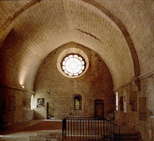 Intérieur de l'Abbaye de Sénanque - Dormitorium par schoeband