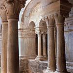 Abbaye Notre-Dame de Sénanque - Cloister par schoeband - Gordes 84220 Vaucluse Provence France