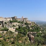 La vue magique sur Gordes : un village à étage par gab113 - Gordes 84220 Vaucluse Provence France