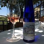 Bastide de Gordes : dégustation de vin rosé Chateau la Canorgue par gab113 - Gordes 84220 Vaucluse Provence France
