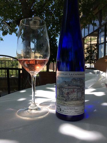 Bastide de Gordes : dégustation de vin rosé Chateau la Canorgue par gab113
