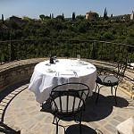 Terrasse avec vue à la Bastide de Gordes by  - Gordes 84220 Vaucluse Provence France