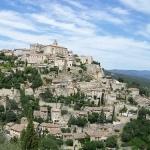 Arrivee a Gordes by Audry Drapier - Gordes 84220 Vaucluse Provence France