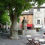 Place du village de Gordes : Provence by curry15 - Gordes 84220 Vaucluse Provence France