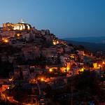 Gordes... la nuit by  - Gordes 84220 Vaucluse Provence France