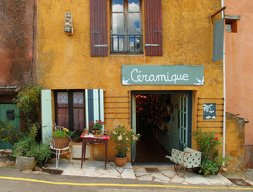 "Gift Shop ""Céramique"" Provence, France par Boris Kahl"