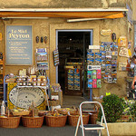 Gift Shop, Provence, France by Boris Kahl - Gordes 84220 Vaucluse Provence France