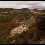 Abbaye de Senanque vue de haut par Coco chat n'elle - Gordes 84220 Vaucluse Provence France